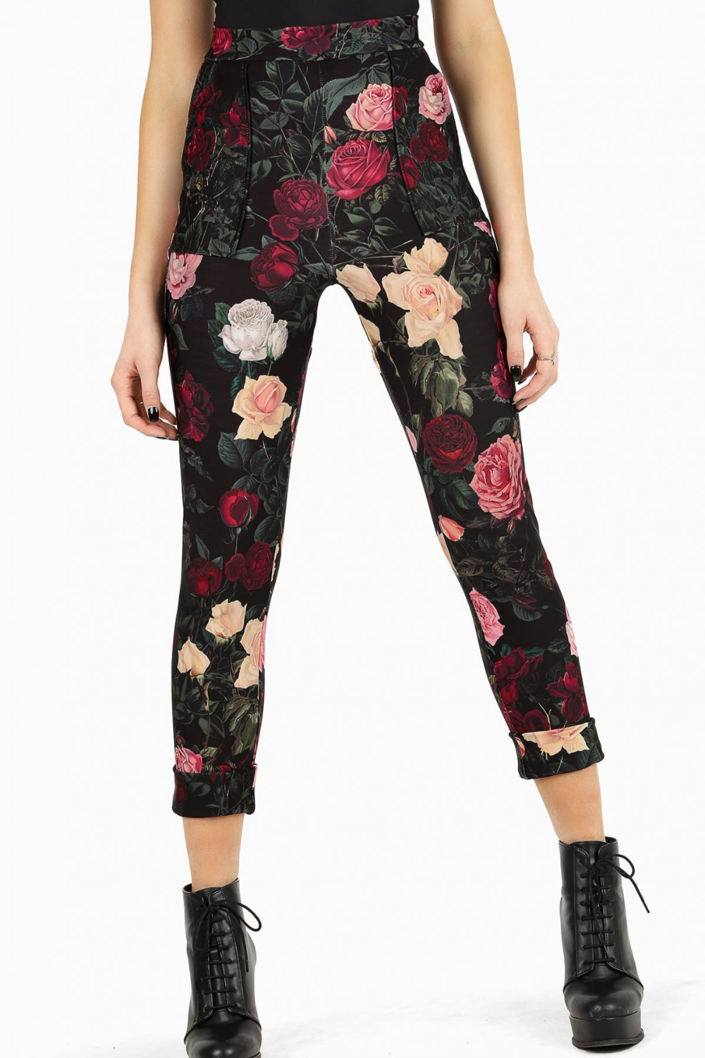 Lookin killer and all. Cuffed pants Black Milk Clothing