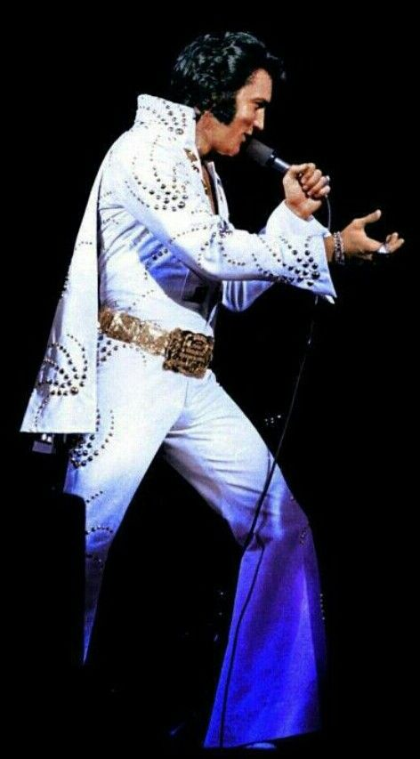 elvis on stage Elvis was at the height of his stage career. His way of doing shows were very different, but he knew how to perform and fans loved it