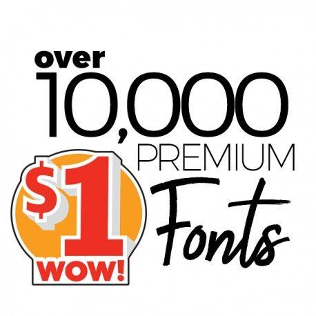 Download FONT MEGA PACK - Over 10000 premium fonts! (с изображениями)