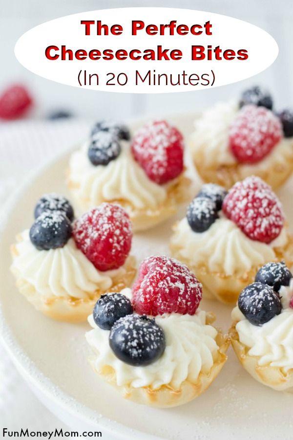 Cheesecake Bites #desserts