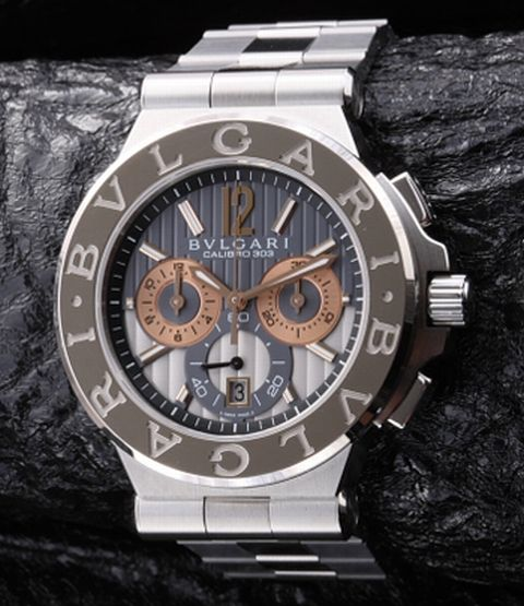 e6182e4f775 Bvlgari Diagono - the most popular series from the jewelry watchmaker