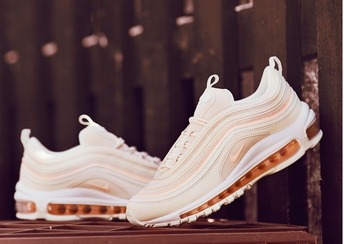 Nike Air Pink OG Shoes Max 97 White SportStylist Nike OkPXZui