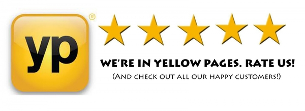 yellow pages in review button Google Search North