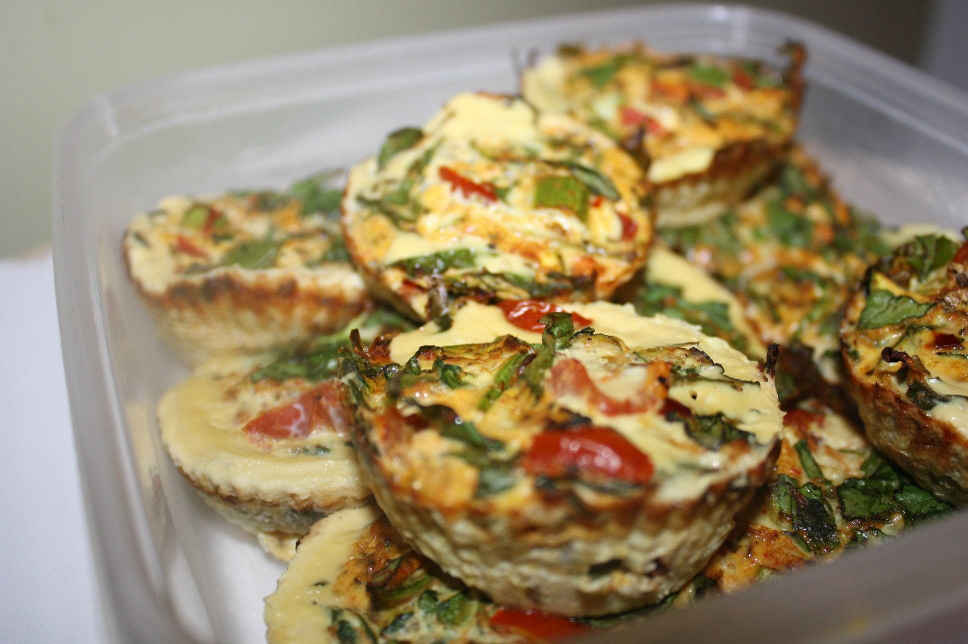 *egg white muffins