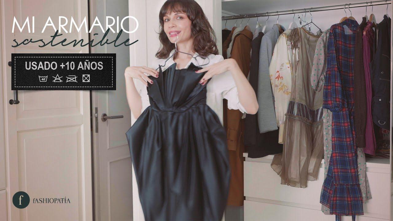 Mi fondo de armario SOSTENIBLE con prendas de más de 10 años | My SUSTAINABLE closet - YouTube