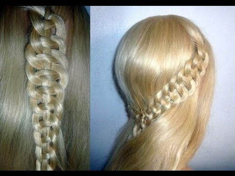4 Strahnen Zopf Flechten Flechtfrisuren Ausgehfrisur Braid With 4 Strands Hairstyle Peinados Youtube Haar Styling Zopfe Flechtfrisuren
