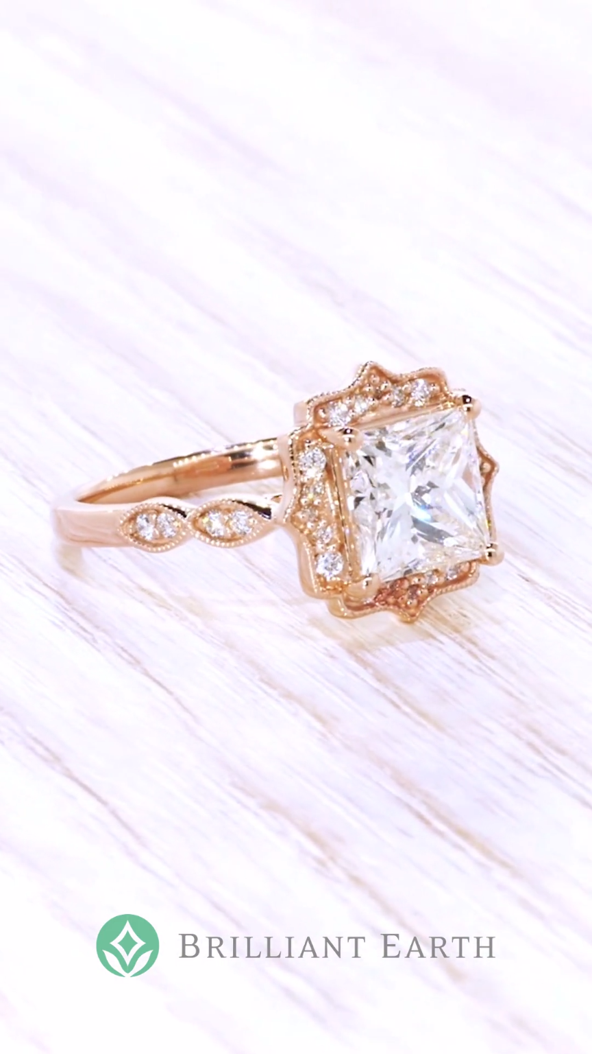 405c08bd4cf We ve got a thing for halo rings. Shop our collection of unique engagement  ring styles to find the perfect ring.