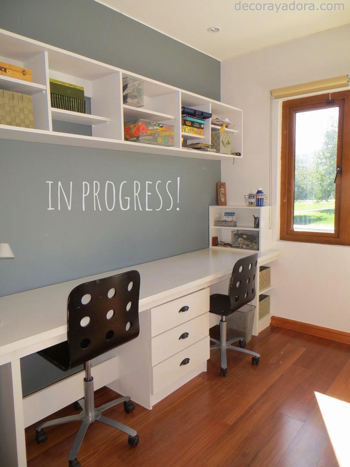 Diy mueble estudio cuarto muebles dormitorio - Sofas para habitacion ...