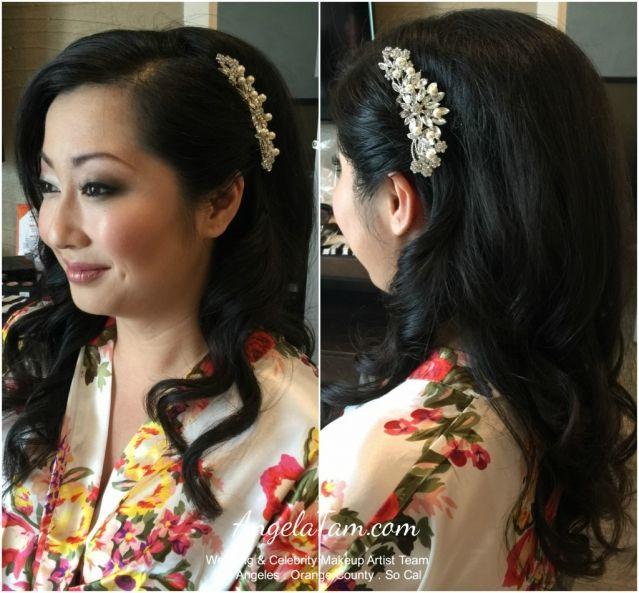 Bride Miko Ebell Of Los Angeles Wedding Asian Bridal Makeup