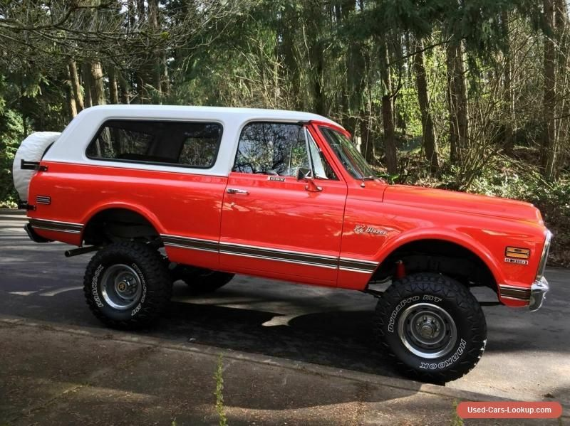 Car for Sale 1971 Chevrolet Blazer K5 in 2020 Chevrolet