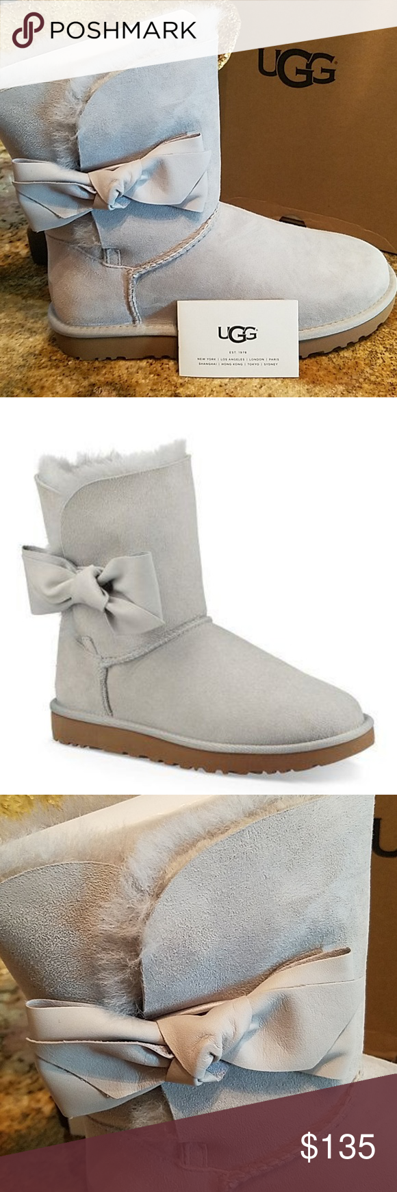 98b8ee4abe9 UGG Daelynn Grey Suede Boots NEW! Adorable, authentic Daelynn Ugg ...