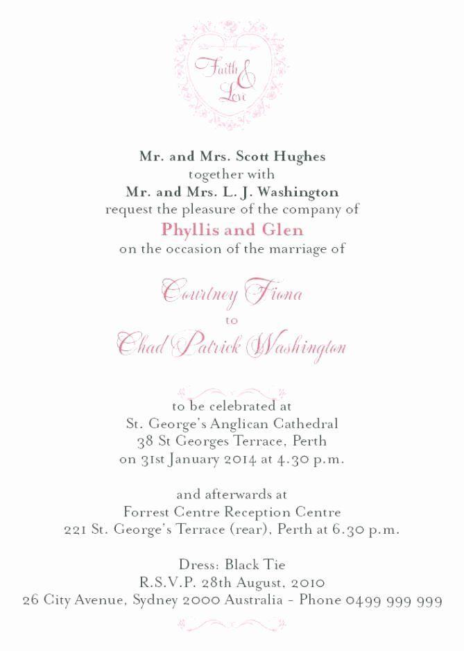 Catholic Wedding Invitation Wordings Lovely Roman Catholic Wedd In 2020 Wedding Reception Invitations Wedding Reception Invitation Wording Creative Wedding Invitations