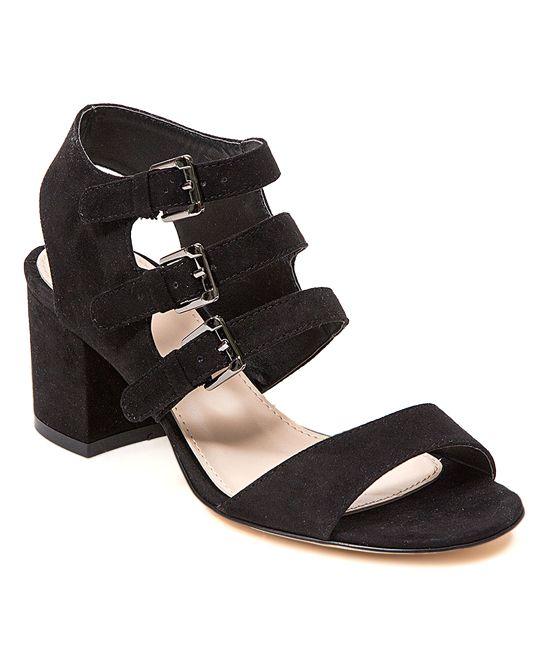 Black Lauran Sandal