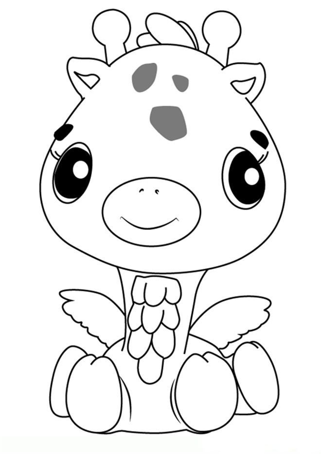 hatchimals coloring pages  giraffe coloring pages