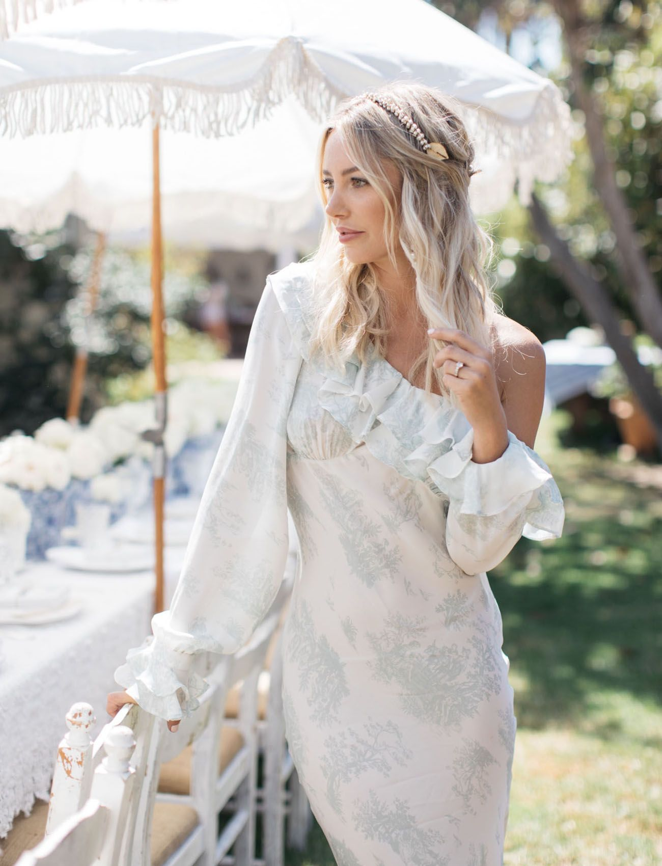 9ff32df1cfa A Vintage Garden Party Shower for the Founder of Stone Cold Fox ...