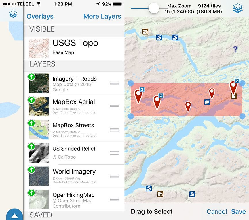 How To Use Your iPhone GPS For Hiking In The Wilderness   Iphone gps. Hiking. Map
