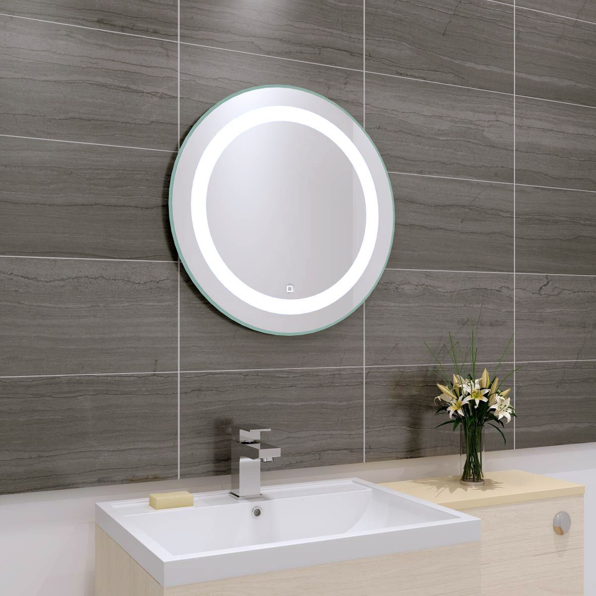 Round Mirrors Are Something A Little Different Led Mirror Bathroom Mirror Bathroom Mirror