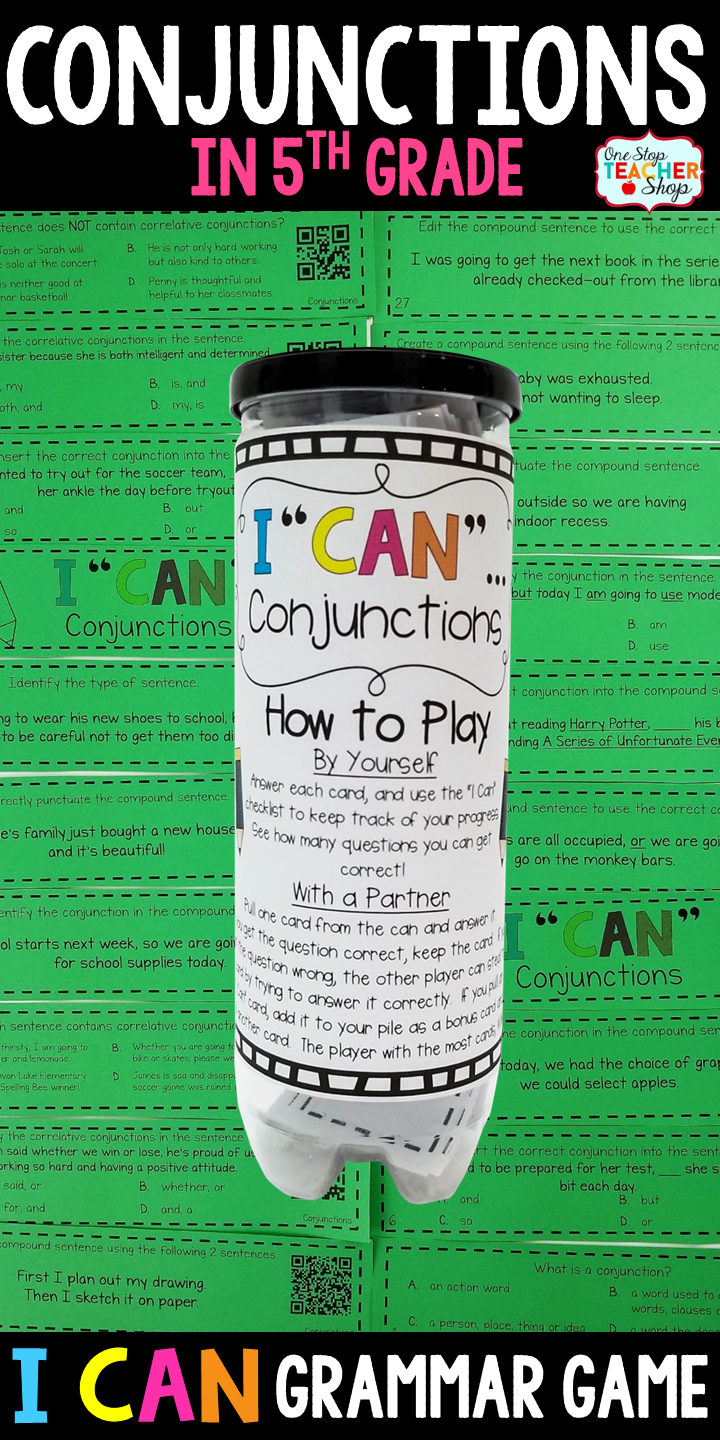 5th grade grammar game conjunctions correlative conjunctions 5th grade grammar games conjunctions and correlative conjunctions i can grammar games for 5th sciox Images