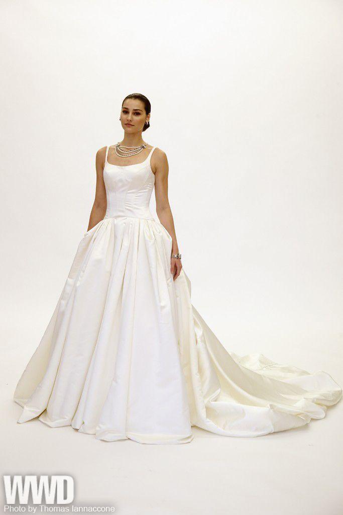 "0103ff8b12d Truly Zac Posen Bridal Fall 2015 ""She s definitely a cool princess this  season"