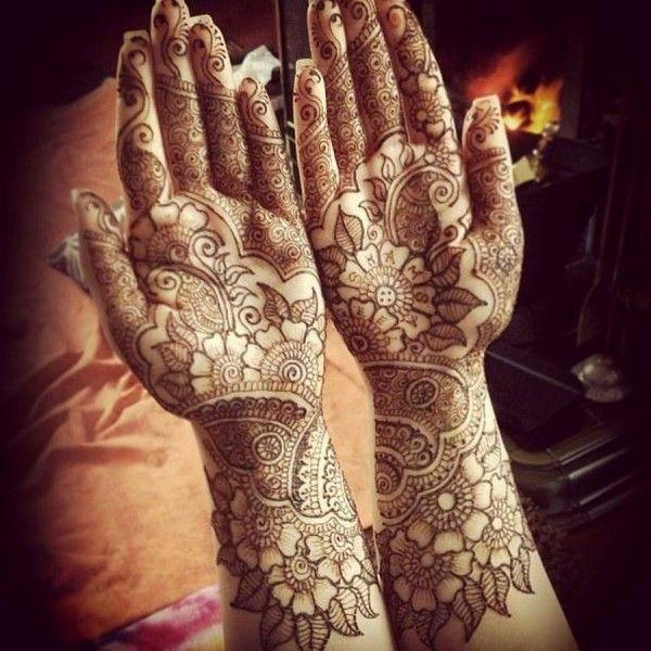 Easy Bridal Mehndi : Simple arabic mehndi designs for hands