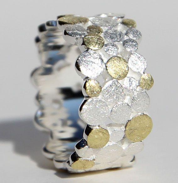 Multi Double Point Ring  von Miabrina auf DaWanda.com