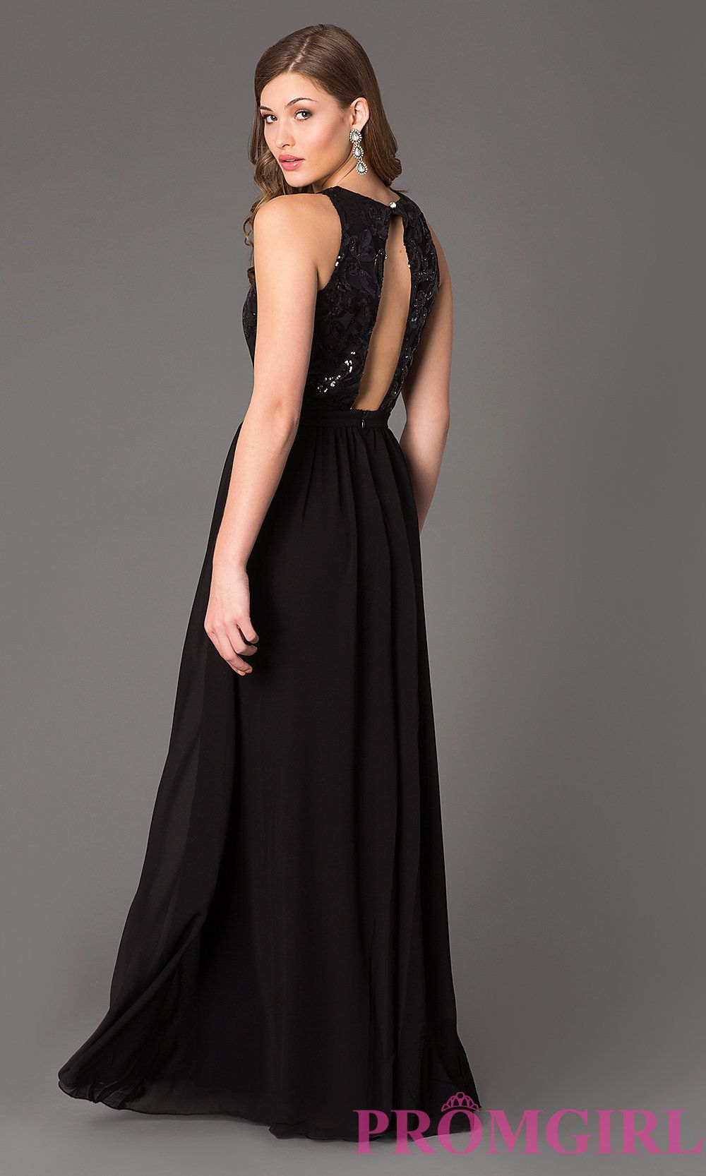 Floor Length Gown | Long formal gowns