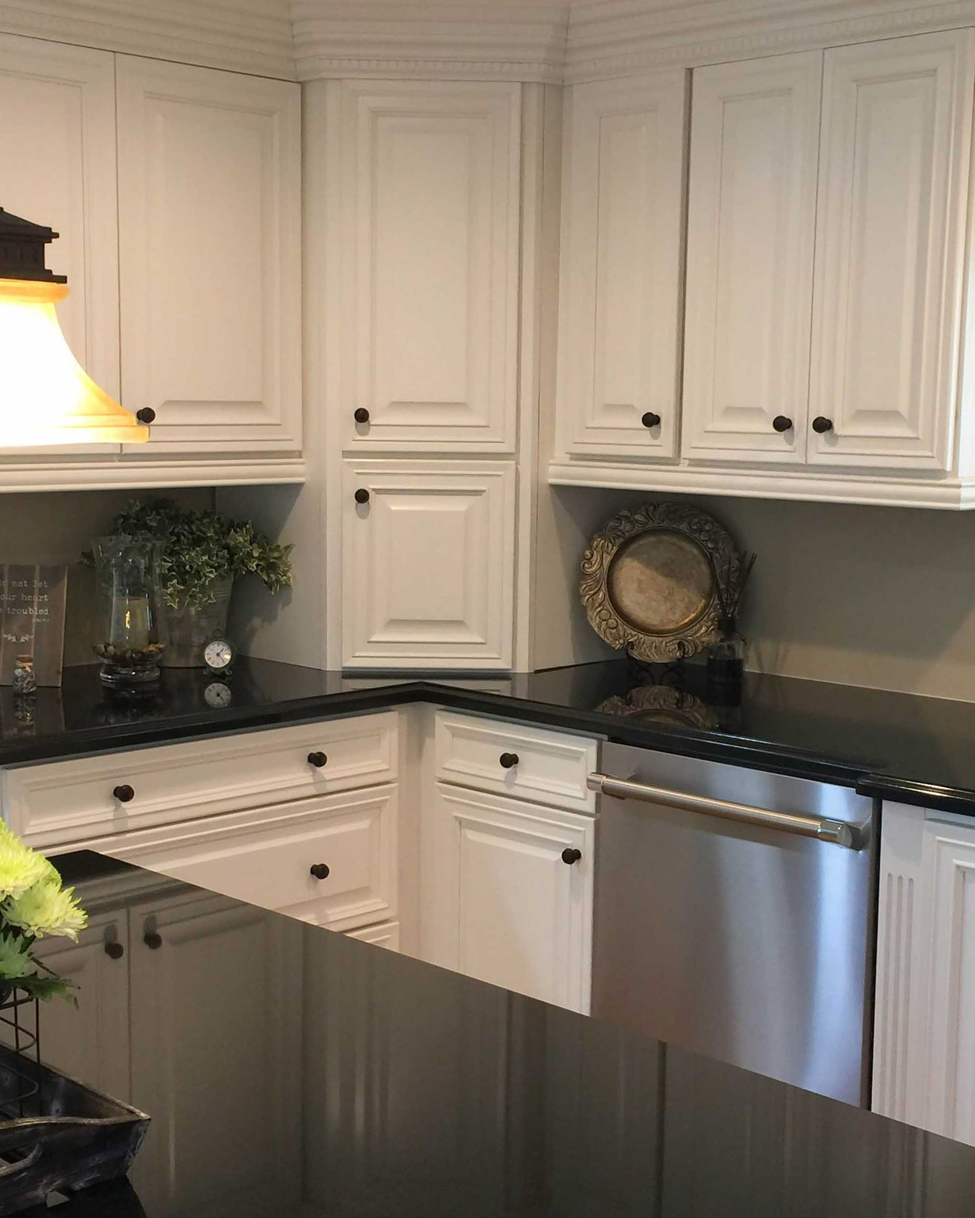 this california kitchen has no shortage of small details that make a big impact decorative on kitchen cabinets no doors id=42387
