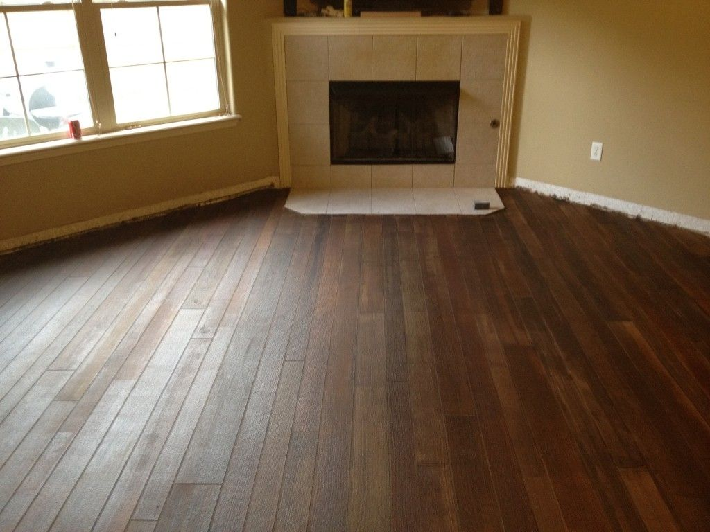 Rubber Flooring That Looks Like Wood Planks Httpdreamhomesbyrob