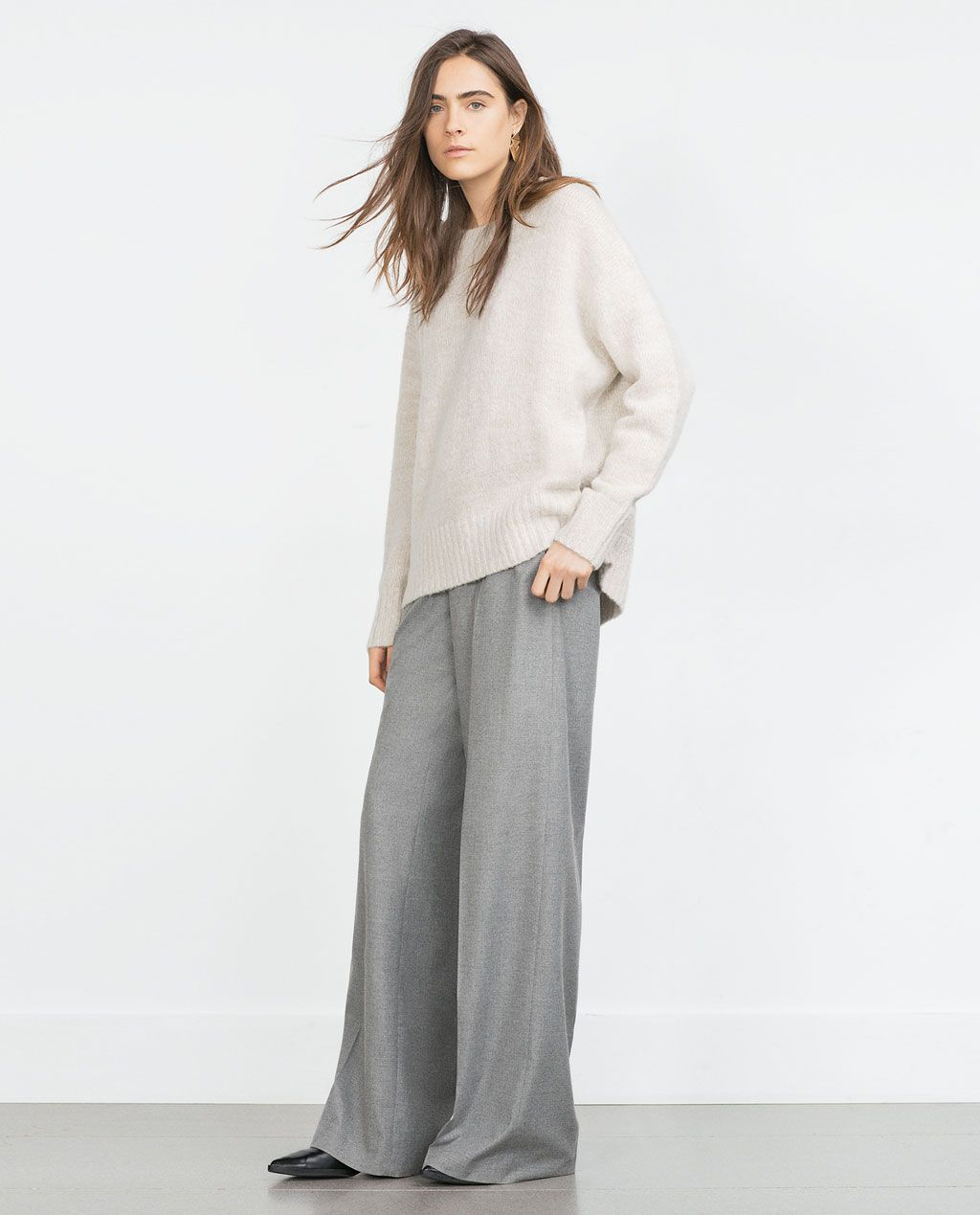 Image 1 of OVERSIZED SWEATER from Zara | Fall fashion | Pinterest ...