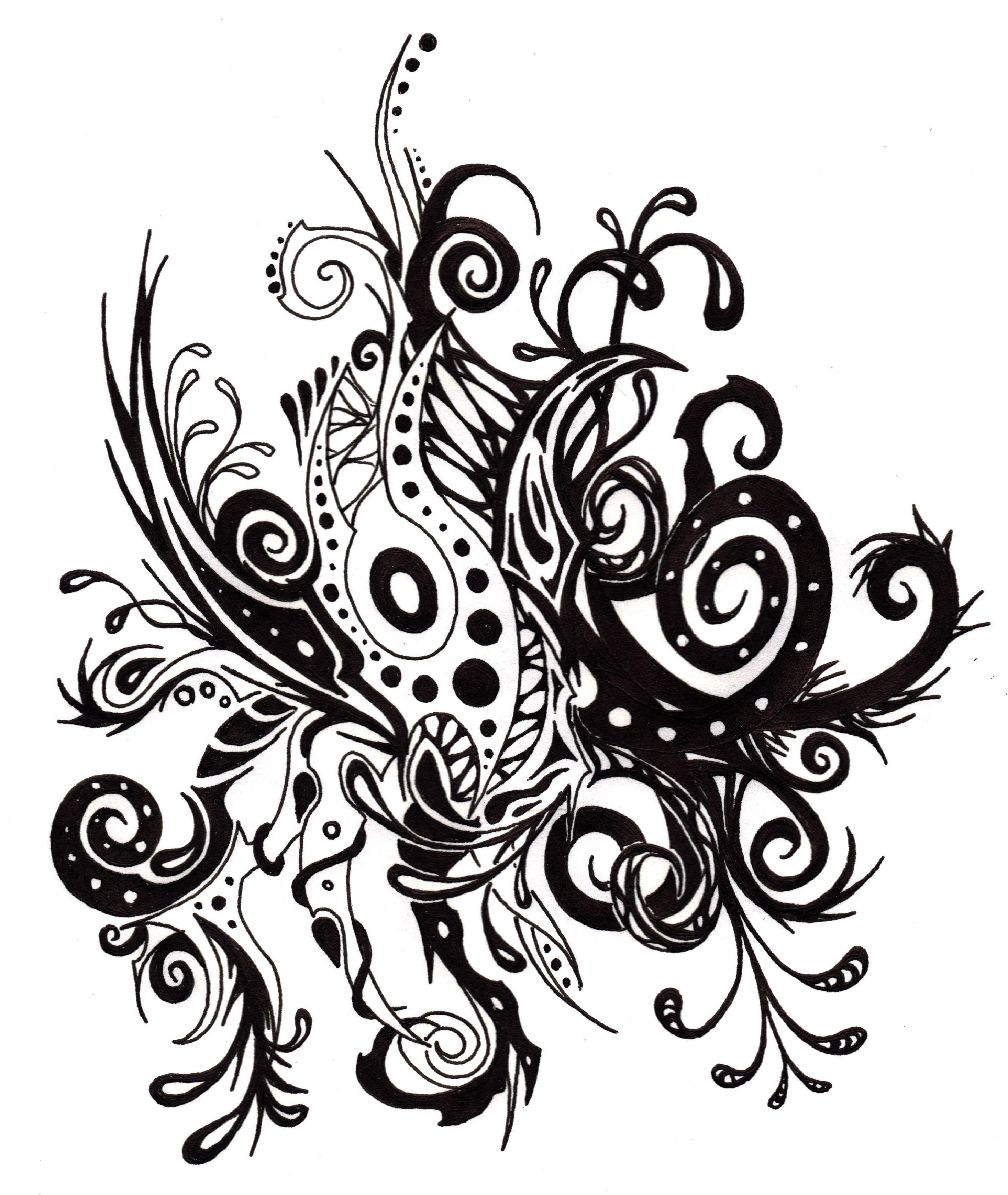 Plantes mal fiques t dessin pinterest dessin - Dessin de malefique ...