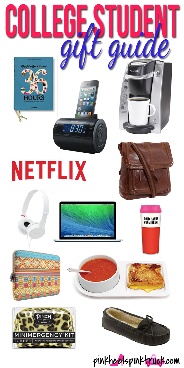 Gift Guide for College Students | College, Students and Gift