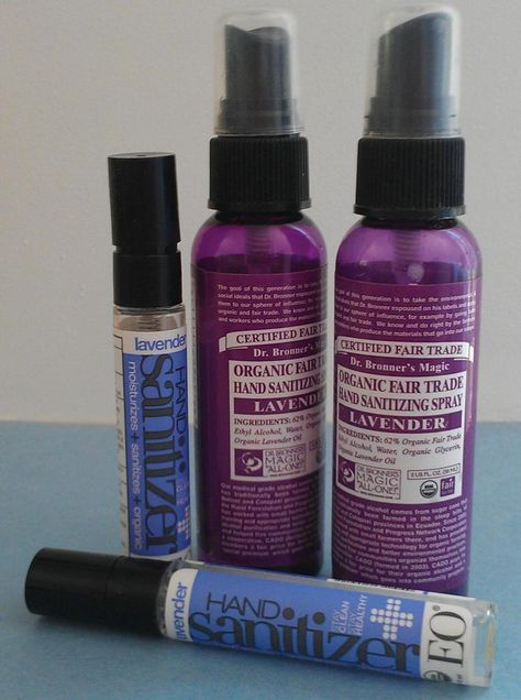 Recycle Dr Bronner S And Eo Lavender Hand Sanitizer Spray Bottles