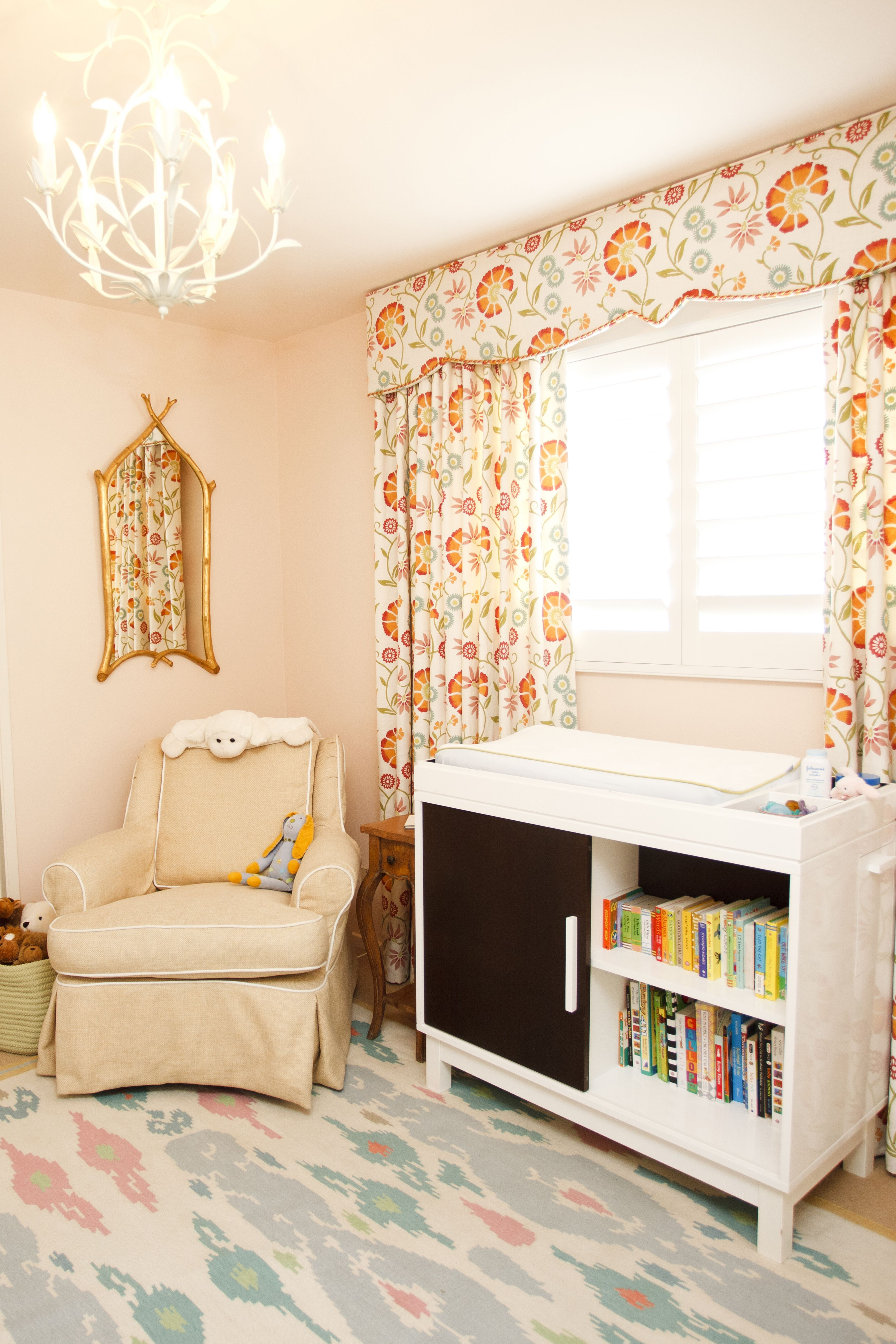 Design Reveal My Baby Girl S Nursery Peach Baby Nursery