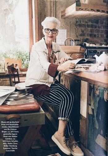 Jackie Burger/Bridgette Wir magazine/May 2016