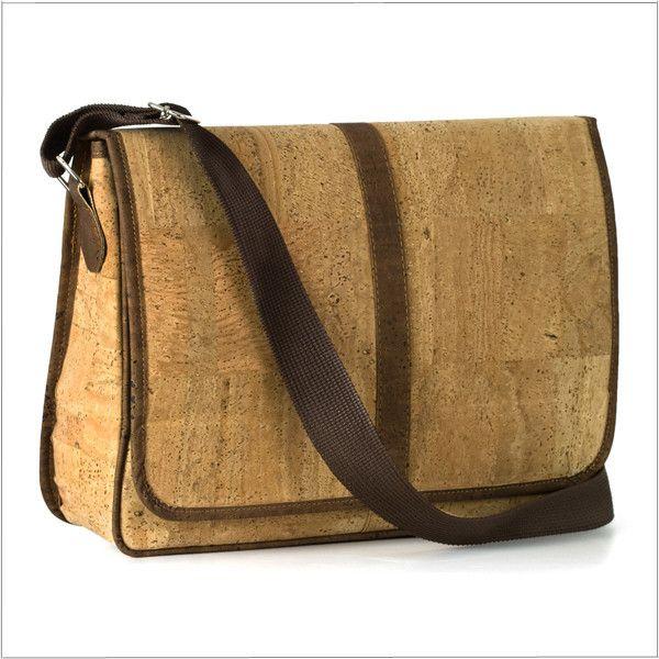 Eco+Envy Cork Messenger Bag