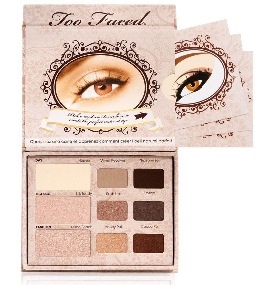 Two Faced Natural Eye Palette -Neutral Eyeshadow Collection ...