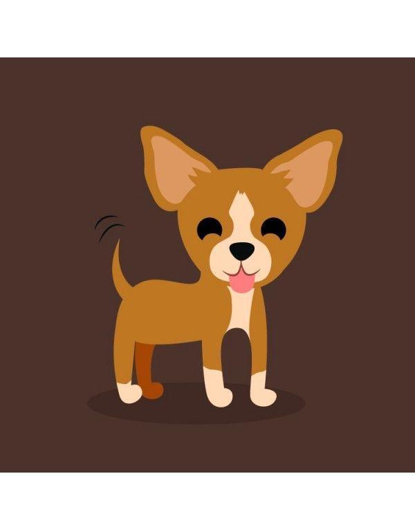 Hola Soy Perla Y Esta Es My Joyeria Epero Que Te Guste Dibujos De Perros Perros De Fieltro Perros Chihuahua