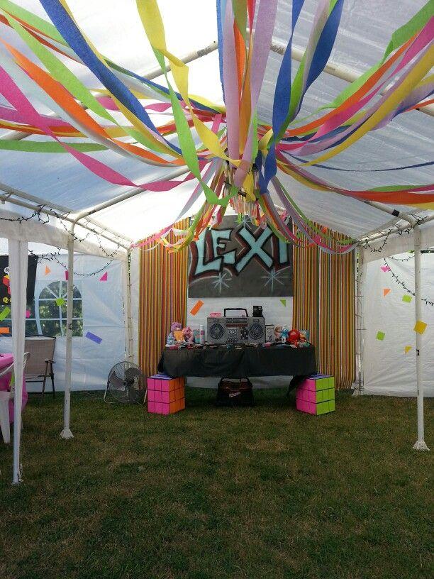 80 39 s party theme 30 birthday party - 90er jahre deko ...