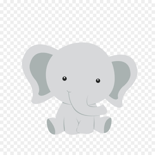 Cute Elephant Face Clipart Google Search Baby Elephant Cartoon Baby Elephant Elephant Clip Art