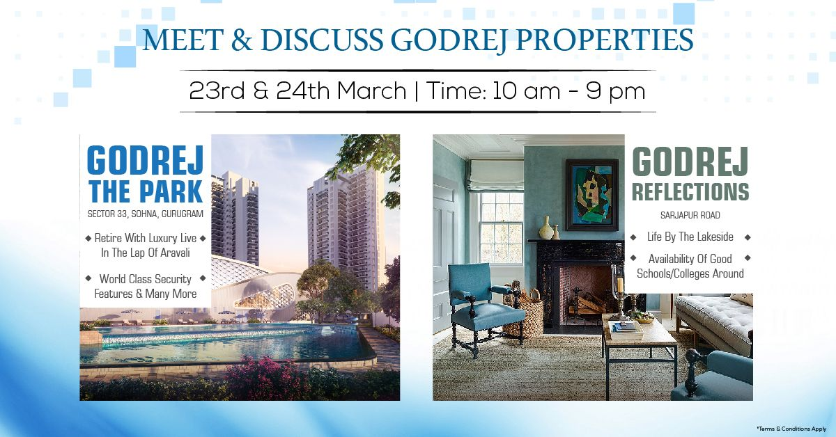 360realtors Godrej Properties Will Be Organizing A Major Sales Marketing Event By The Name Of Meet Discuss Godrej Pr Worlds Of Fun Real Estate Property