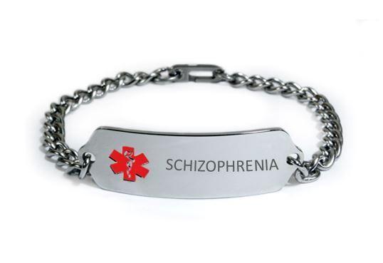 Details About Medical Alert Id Bracelet Free Medical Emergency Card Tkid58 Schizophrenia Id Bracelets