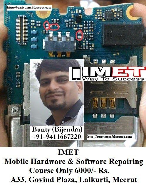 Samsung E1272 Short Dead Problem Repair Solution  With