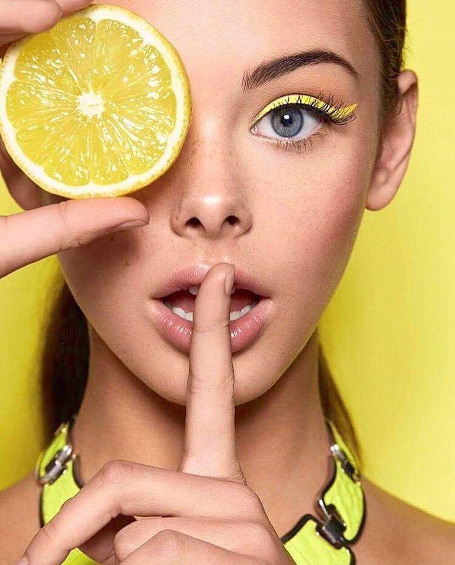 картинки макияж с фруктами важная составляющая