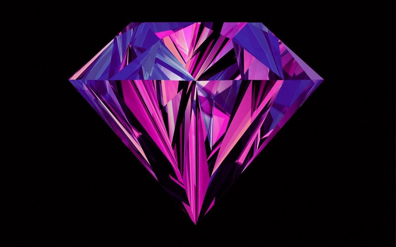 purple diamond by deviantart janethepegasus base art on