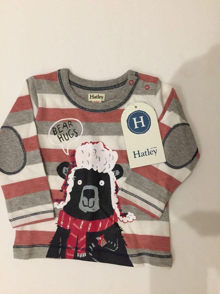 cefc79b8c Hatley Baby Boy's Bear Hug Tee!! Size 3-6 Months. New With Tags!! #fashion # clothing #shoes #accessories #babytoddlerclothing #boysclothingnewborn5t  (ebay ...