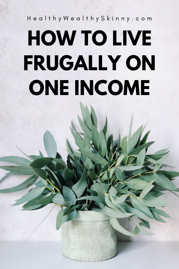 If you're looking for information on how to live frugally on one income then you've come to the right place. Living on one income can be a challenge especially if you have a growing family. However, with just a few simple tips you can live on one income and not go without. Frugal living is all about spending your money wisely. Therefore it is the perfect lifestyle choice if your family has one income. #frugallivingtips #frugalliving #oneincome #moneysavingtips #savingmoney #livingfrugally #HWS