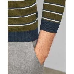 Photo of Gestrickter Pullover Mit Rundhalsausschnitt Und Streifen Ted BakerTed Baker