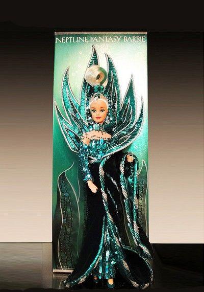 Bob Mackie Barbie Doll Neptune Fantasy Vintage Barbies