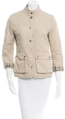 Burberry Quilted Jacket - Shop for women's Jacket