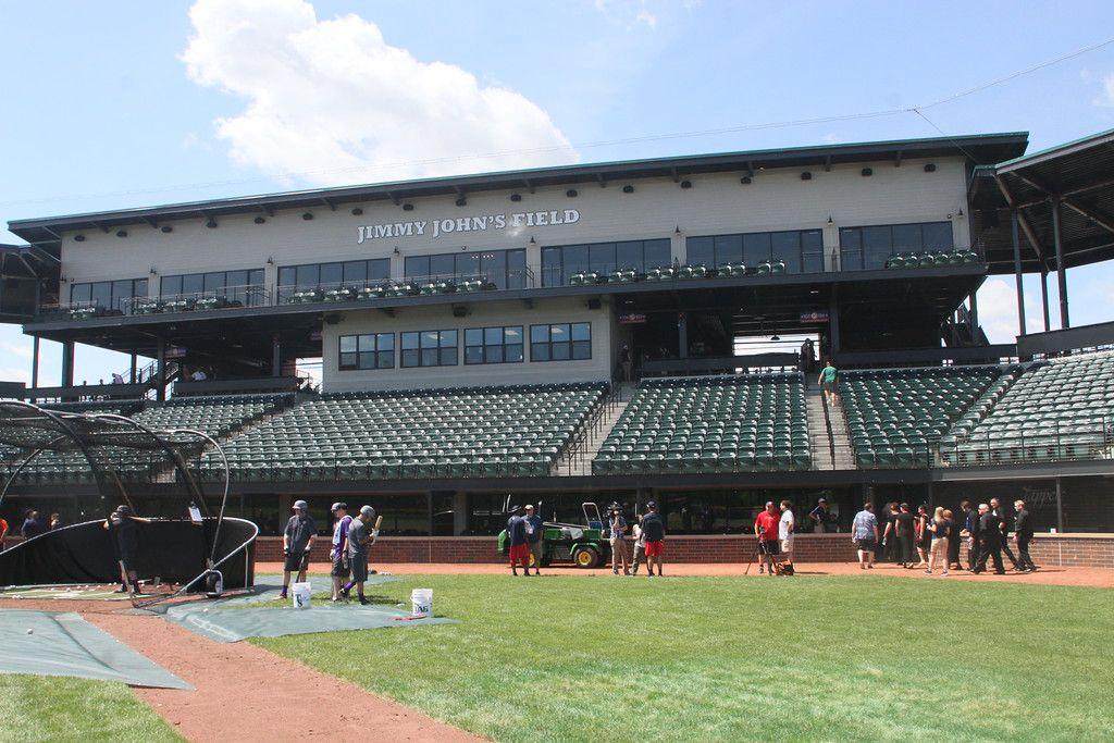 Opening Day, Jimmy John's Field, Utica MI Utica
